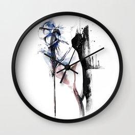 Shibari - Japanese BDSM Art Painting #4 Wall Clock