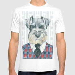 Schnauzer Mc Doogall T-shirt