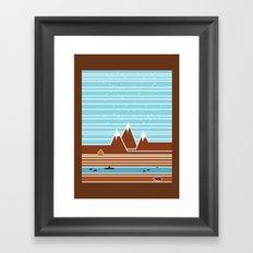 Canada. Framed Art Print