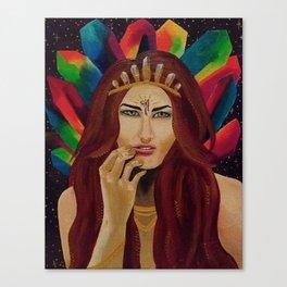 Crystalline Queen Canvas Print