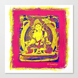Thanka (3) Canvas Print