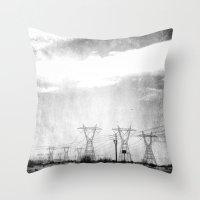 arizona Throw Pillows featuring Arizona by Whitney Retter