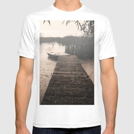 The fall  The Lake  The boat The drama T-shirt