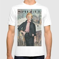 1955 Spring/Summer Catalog Cover Mens Fitted Tee White MEDIUM