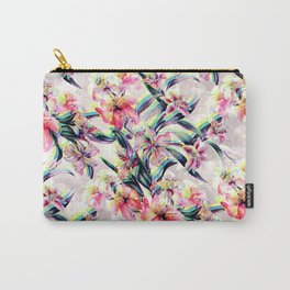 RPE Floral Glitch Carry-All Pouch