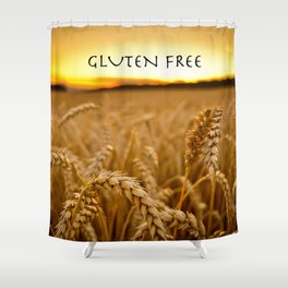 Gluten Free Shower Curtain