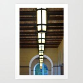 Blanton Museum of Art Loggia Art Print