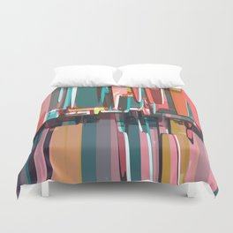Abstract Composition 639 Duvet Cover