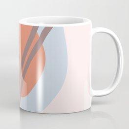 Frugal Food Blue Retro Coffee Mug