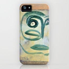 Insecurities - Self Portrait iPhone Case