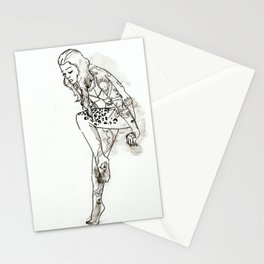 Tattooed Lady Stationery Cards