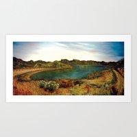 Lake Casitas Prayer Path Art Print