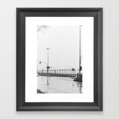 Dusseldorf. Framed Art Print