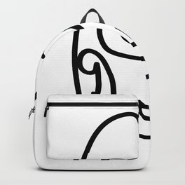 Talk Face Backpack