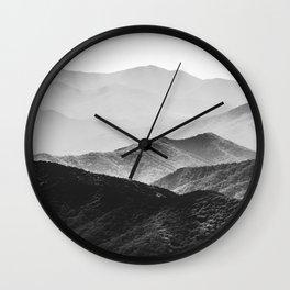 Smoky Mountain Wall Clock