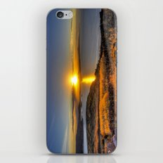A Titicaca Sunset iPhone Skin