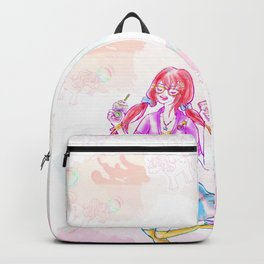 Pastel Unicorn Frap Girl Backpack