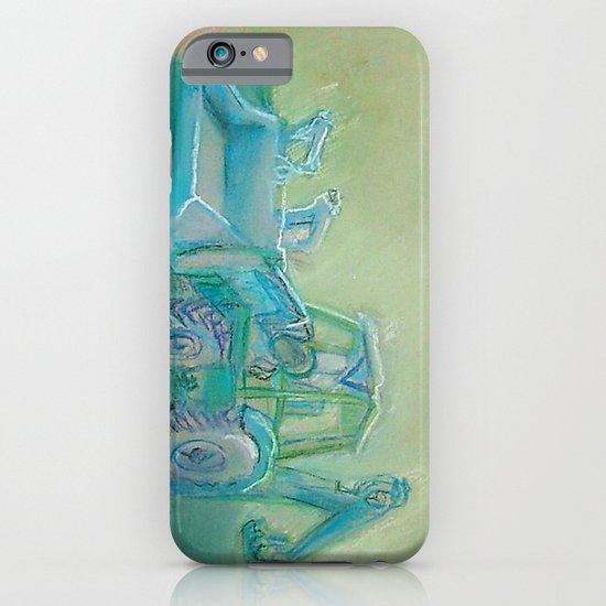 Traktor blue iPhone & iPod Case