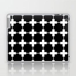 Tiles Black Laptop & iPad Skin