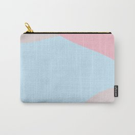 Petrichor soft pink and light blue Carry-All Pouch