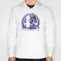 super smash bros Hoodies featuring Sheik - Super Smash Bros. by Donkey Inferno