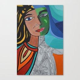Inside/Outside Canvas Print
