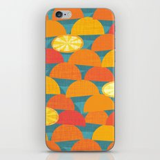 Squeeze Me.Teal iPhone & iPod Skin