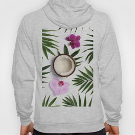 Tropical composition Hoody