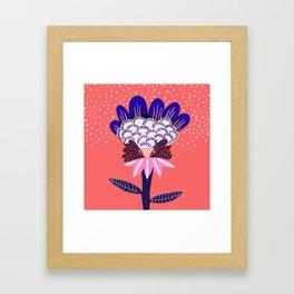 Fabuluscious Flower Framed Art Print