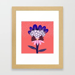 Fabuluscious Flower Framed Art Print