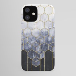 Cubes of Gold - Indigo Nights iPhone Case