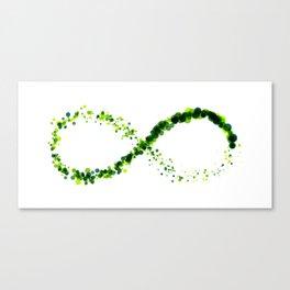 Exploding Infinity 04 Canvas Print