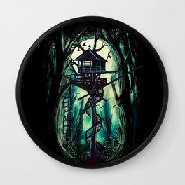 Magical Treehouse Wall Clock