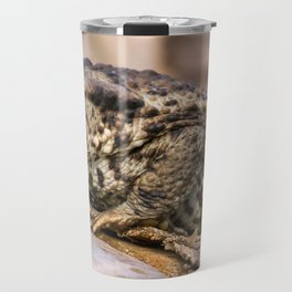 Amphibian, Common British Toad / Frog Travel Mug