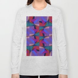 Geometric Lux QR D Long Sleeve T-shirt