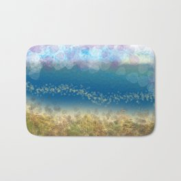 Abstract Seascape 02 wc Bath Mat