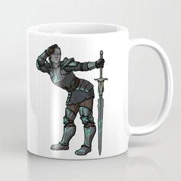 Strong Female Pose - Sten Coffee Mug