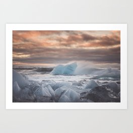 The Ice Cold Heaven - Landscape and Nature Photography Art Print