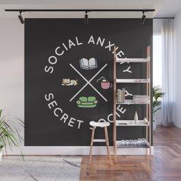 Social Anxiety Secret Society Wall Mural