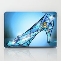 shoe iPad Cases featuring Cinderella Shoe by Chris Thompson, ThompsonArts.com