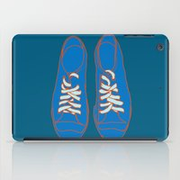 sneakers iPad Cases featuring Sneakers by Sam Ayres