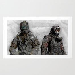 Dead Space 3 Art Print