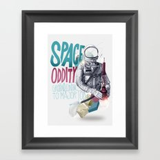 SPACE ODDITY Framed Art Print