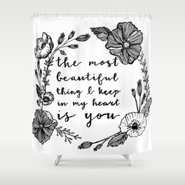 Beautiful Poppies Shower Curtain