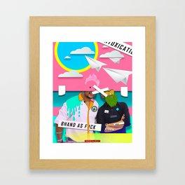 """""""HIGH"""" Framed Art Print"""