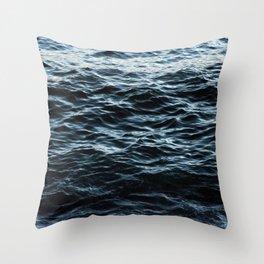 Sea Water Surface Texture 2 Throw Pillow