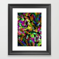 Geometric Puzzel Framed Art Print