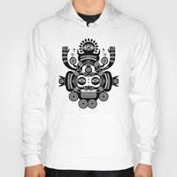 tatoo Hoodies featuring Râ Tatoo by Exit Man