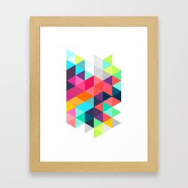 Crystallize Framed Art Print