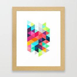 Crystallize Framed Art Print